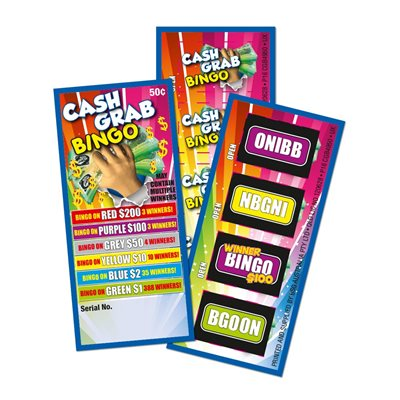 CASH GRAB BINGO LUCKY ENVELOPE