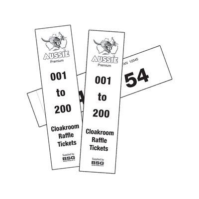 PREMIUM CLOAK ROOM TICKETS 1-200