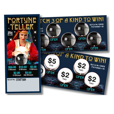 FORTUNE TELLER 9 x $50 LUCKY ENVELOPE