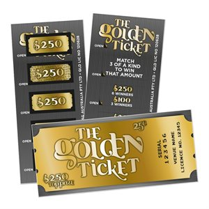 THE GOLDEN TICKET LUCKY ENVELOPE