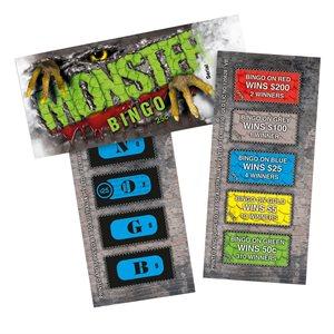 MONSTER BINGO 2 x $200 25c LUCKY ENVELOPE