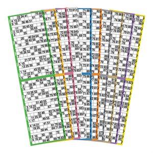 15 GAME BOOK 12UP PREMIUM 10 COLOUR ROTATION