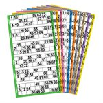 20 GAME BOOK 6UP PREMIUM 10 COLOUR ROTATION