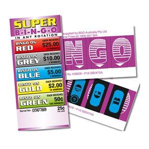 SUPER BINGO 10 X $25 LUCKY ENVELOPES
