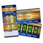 SUPER DELUXE BINGO 4 x $500 LUCKY ENVELOPES