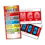 SUPER BINGO 2 x $100 LUCKY ENVELOPES